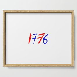 1776-Declaration of Independence 2 Serving Tray