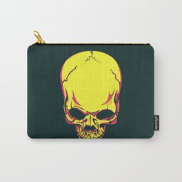 neon skull. Carry-All Pouch
