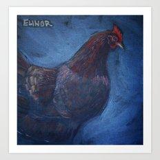 Elinor Art Print