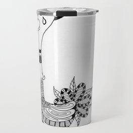 Ozzy the Ostracized Ostrich Travel Mug
