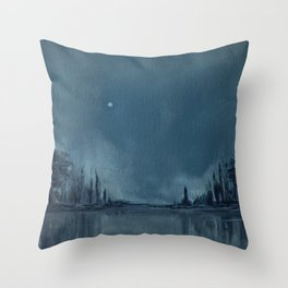Someplace Serene Throw Pillow