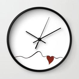 Way of Heart Wall Clock