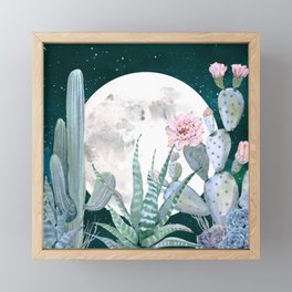 Desert Nights by Nature Magick Framed Mini Art Print
