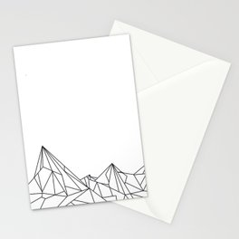 Night Court Mountain Design Stationery Cards