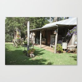 The Old Farming Cottage Canvas Print