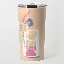 floral fuel Travel Mug