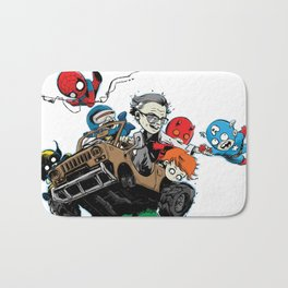 Baby Stan Lee and Friends Bath Mat