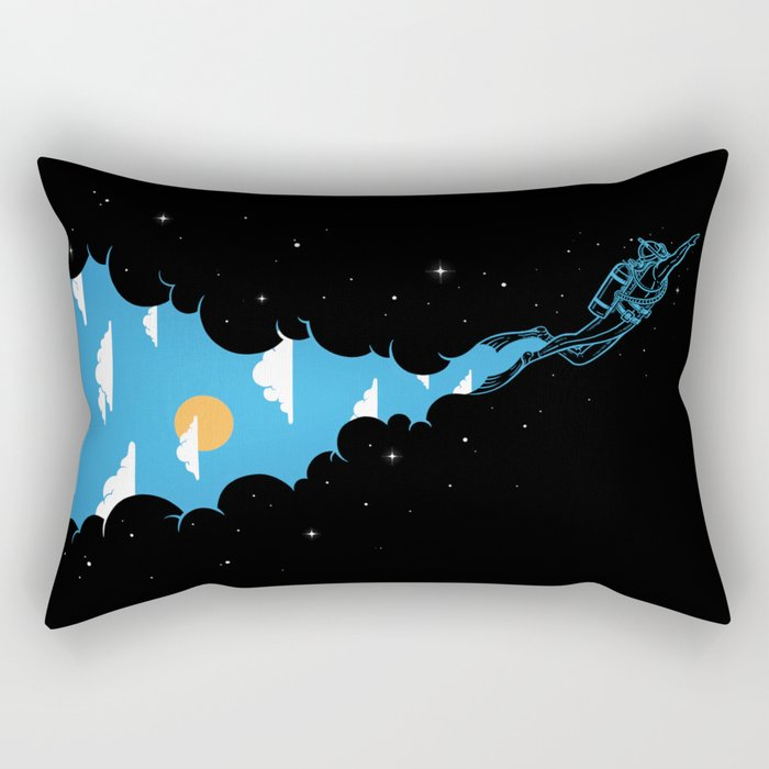 Skydiver Rectangular Pillow