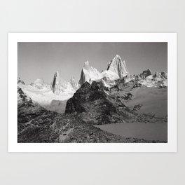 Laguna De Los Tres -- Mount Fitz Roy Art Print