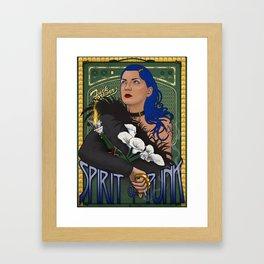 The Spirit of Punk Framed Art Print