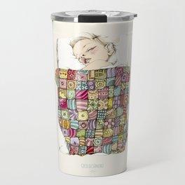 sleeping child Travel Mug