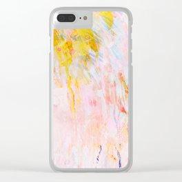 tropics Clear iPhone Case