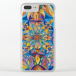 Mandala 2012 Clear iPhone Case