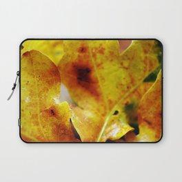 Autumn leaves print. Laptop Sleeve