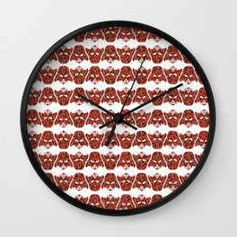 flower for darkness Wall Clock