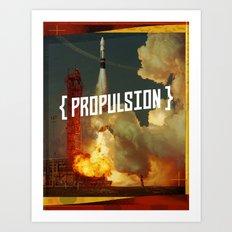 Propulsion Art Print