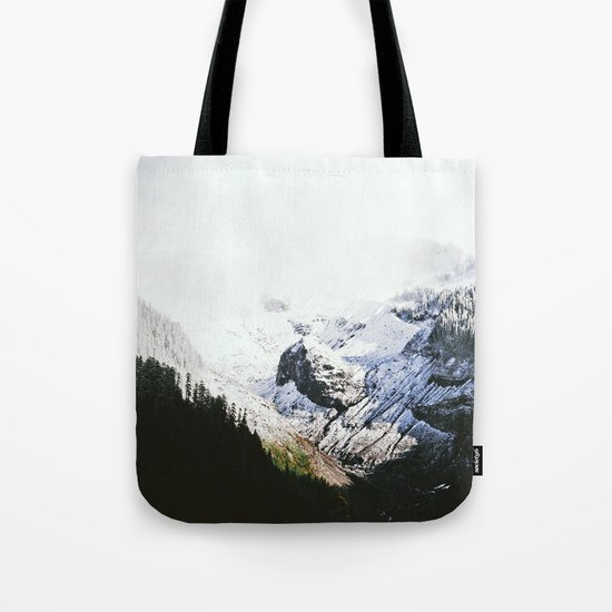 Mountain Valley Contrast Tote Bag