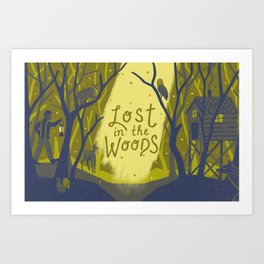 Graft - Lost in the Woods Art Print