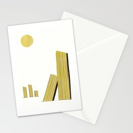 Columns in the sun Stationery Cards