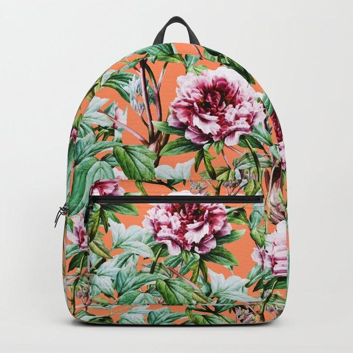 Frosty Florals    #society6 #decor #buyart Backpack