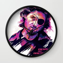 Kurt Russell: BAD ACTORS Wall Clock
