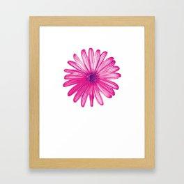 September Aster Flower Farmer Or Nature Lover Gift Framed Art Print