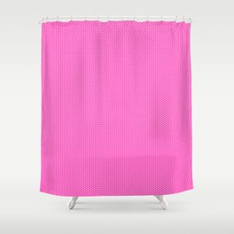 Hearts on Pink by Leslie Harlow Shower Curtain
