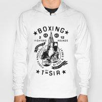 boxing Hoodies featuring Boxing by T-SIR | Oscar Postigo