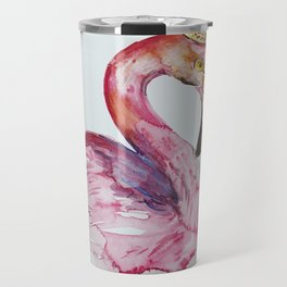 Flamingo crone Travel Mug