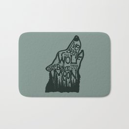 The Wolf Bath Mat