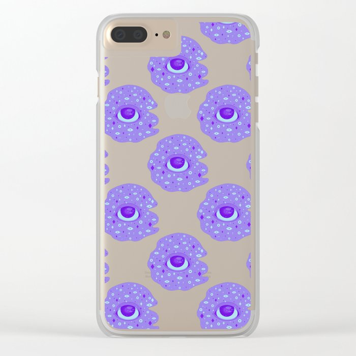 Witnessing The Majesty Clear iPhone Case