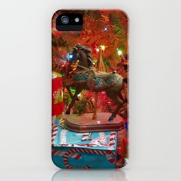 Christmas Presents under a Christmas Tree!! iPhone Case