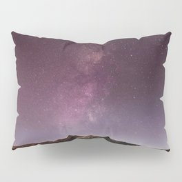 Milky Way Landscape Pillow Sham