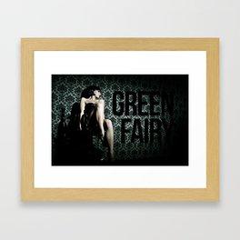 GREEN FAIRY I Framed Art Print