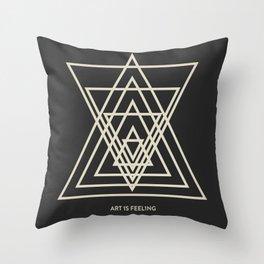 ReyStudios Monochromatic 3 Throw Pillow