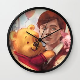 The boy and his friend  Wall Clock