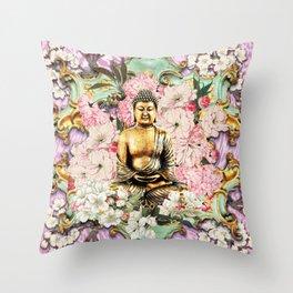 Tranquil Buddha Throw Pillow