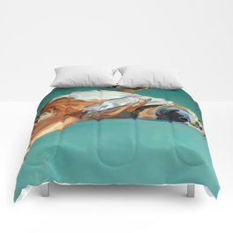 Johnny the Dog Rests Comforters