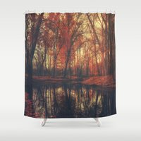 outdoor Shower Curtains featuring Where are you? by UtArt