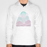 the mountains are calling Hoodies featuring The Mountains are Calling No. 2 by CreativelyHappy
