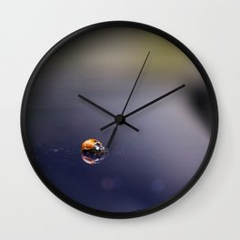 Reflections of you Wall Clock