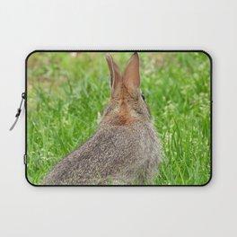 I've Still Got My Eye On You #rabbit #bunny #nature  Laptop Sleeve