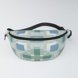 Gentle Shaded Plaid Fanny Pack