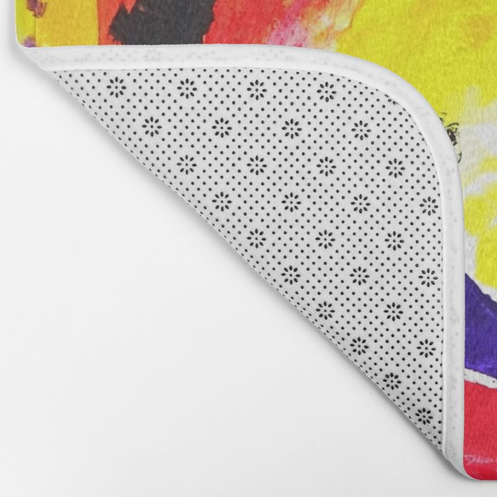 Colourful Dot Bath Mat