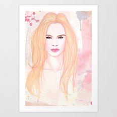 Beauty knows no gender Art Print