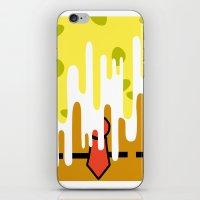 spongebob iPhone & iPod Skins featuring Spongebob SquareDrip by JessicaSzymanski