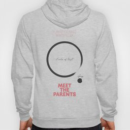 Meet the Parents, minimalist movie poster, Robert De Niro, Ben Stiller, american comedy, film Hoody