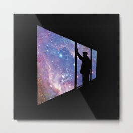 Stare Into Everything Metal Print