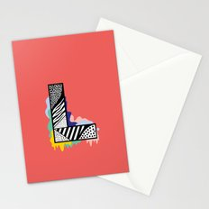 L for …. Stationery Cards