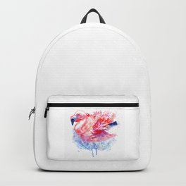 Flamingo on the Water Backpack
